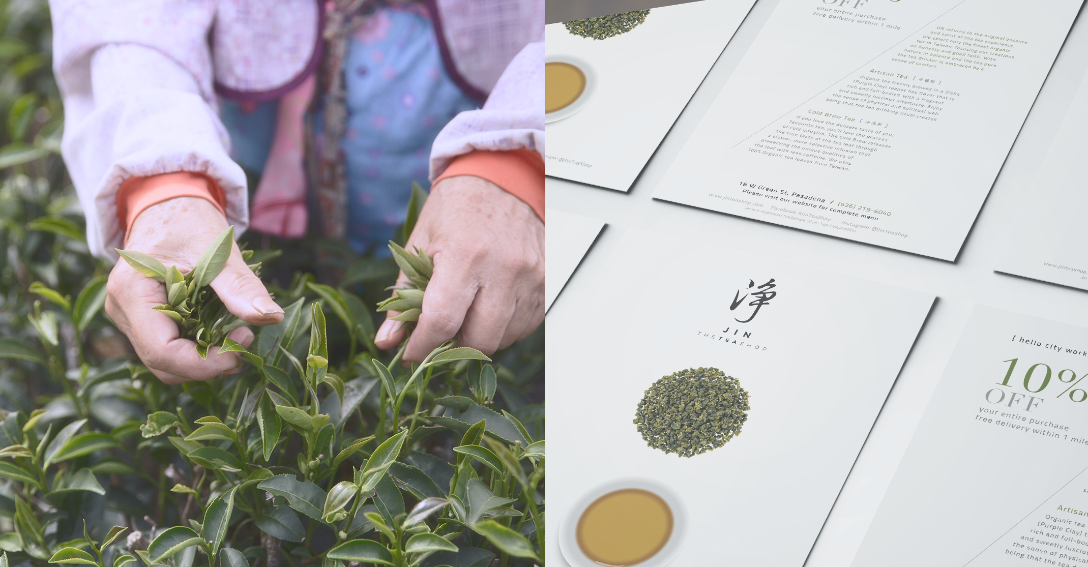 Jin Tea Shop | Rooster Creatives | Work